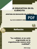 Cpacitación a Jefes de Calidad Educativa de Las Eeaa7ss Abr-2016
