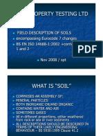 Presentation Field Descriptions. Nov 2008