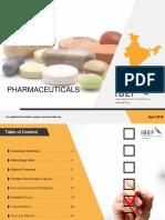 Pharmaceuticals Report Apr 20181