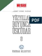 Yuzyillar Boyunca Uskudar Part Cilt 2 2001