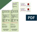 ADE Injeksi Cortison Asetat
