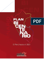 Plan Bicentenario (Peru Hacia El 2021) Version Final