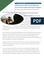 Maltrato Infantil en Perú Crece en 2017 Hubo 21600 Casos de Violencia