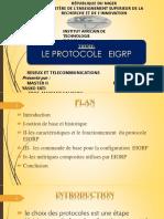 Expopse 3 Le Protocole Eigrp