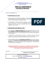 Termo de Compromisso - Conclusão Do Mestrado (Atualizado 2014 2015)
