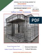 Aluminum Formworks Manufacturing Unit