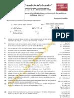 Taller 1 de Matemáticas Financieras II
