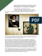 Inschriften an Uruguays Küste Stellen Die Geschichte Auf Den Kopf - Waren Die Westafrikaner Vor Columbus in Amerika
