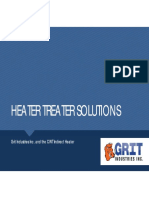 Heating Oil in a Vertical Heater Treater
