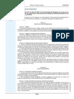 UNIVERSIDAD ZARAGOZA- Procedimiento Listas de Espera Para Cubrir Puestos de Trabajo de PAS