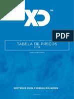XDTabela XD2018 1 Release 2