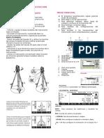 Manual de Uso de Estacion Leica Word