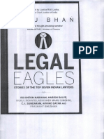Legal Eagles Indu Bhan Book on Abhishek Singhvi Chapter Bio Data CV Article