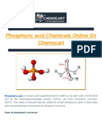 Phosphoric Acid Suppliers in Delhi