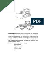 Buldozer Adalah Salah Satu Peralatan Kontruksi Yang Cara Kerja Buldozer Digunakan Untuk Menggali