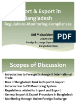 Import and Export in Bangladesh