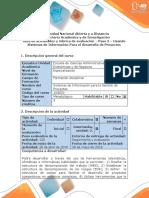 Guía de Actividades y Rúbrica de Evaluación - Paso 3 - Usando Sistemas de Información Para El Desarollo de Proyectos