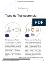 Tipos Transparencia - By Mauricio Covarrubias [Infographic]
