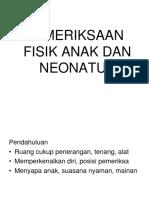 K12 - Pemeriksaan Fisik Anak ECCE 3 2015