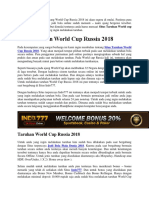 Situs Taruhan World Cup Russia 2018