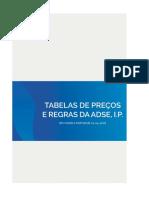 Tabela Preços ADSE 2018