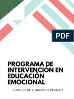 Programa de Intervención en Educación Emocional (1)