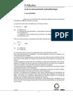 Calcul Du Potentiel Hydroélectrique Si Conduite Forcée Inexistante
