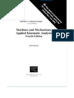 Solution Manual Myszka