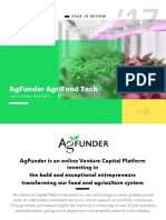 AgFunder Agrifood Tech Investing Report 2017