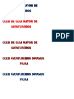 Club de Guia Mayor De