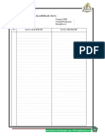 1. Format Klasifikasi Data