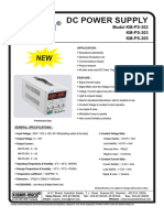 Dc Power Supply- 302-303-305 Update