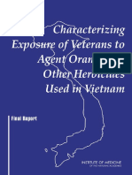 Characterizing Exposure of Veterans to Agent Orange and Other Herbicides Used in Vietnam, Final Report (2003)