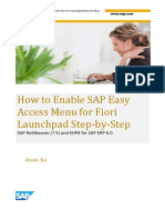 How to Enable SAP Easy Access Menu for Fiori Launchpad Step-by-Step.pdf