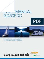 User Manual Gd30fdc