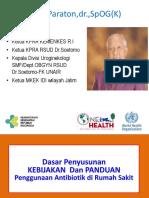 9.Kebijakan Dan Panduan Antibiotik