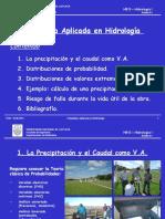 II.1 Estadística en Hidrología