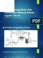 Proses Pengolahan dan Pemurnian Zircon
