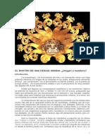 Rostro de Una Deidad Andina - Imagen o Metafora