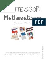 Cahier de Presentations de Mathematiques