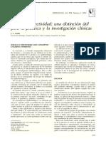 EFECTIVIDAD Y EFCACIA EN TRATAMIENTOS