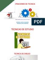 Ilustraciones de Tecnica