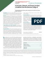 ACP LBP Guideline