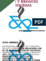 CLASE 5 - ACTOS-Y-NEGOCIOS-PROCESALES.pptx