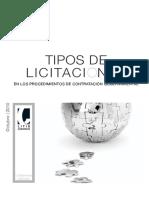 Booklet9 Tipos de Licitaciones