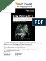 DM2010 Pillar Design