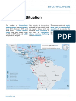 Informe de UNHCR sobre la situación de Venezuela - Mayo  2018