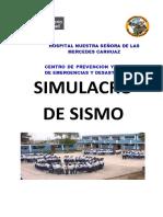 Plan de Simulacro Sismo 30 de Mayo