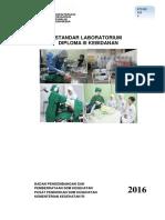 Standar Laboratorium DIII Kebidanan 2016