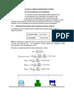 Cálculo de La Instalación Paso a Paso